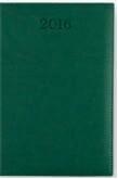 Kalendarz A5 Książkowy dzienny Vivo ciemny zielony 2016 Praca zbiorowa