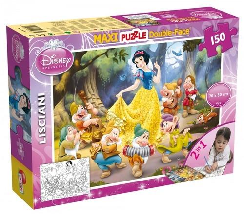 Puzzle dwustronne maxi Królewna Śnieżka 150 (46751)