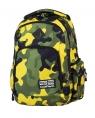 Plecak młodzieżowy CoolPack Break Camouflage Yellow 26l