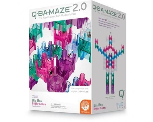 Labirynt dla kulek Q-Ba-Maze 92 elementy