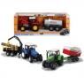 Traktor farmera z przyczepą (203474584)