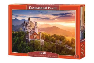 Puzzle 500: Zamek Neuschwanstein Niemcy (B-52752)