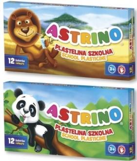 Plastelina szkolna 12 kolorów Astrino ASTRA