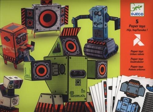 Składanki papierowe Roboty