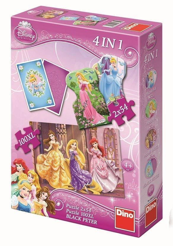 Puzzle Dino 4w1 Princess (658752)