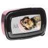 Śniadaniówka Rachael Hale szaro-różowo-czarna