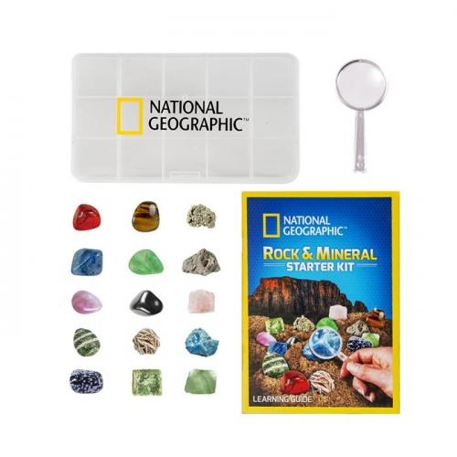 National Geographic Zestaw startowy skał i minerałów - Dostępność 13/09