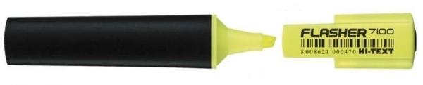 Zakreślacz Flasher żóły (10szt) HI-TEXT