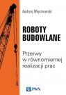 Roboty budowlane Przerwy w równomiernej realizacji prac Więckowski Andrzej