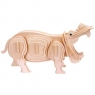 Łamigłówka drewniana Gepetto - Hipopotam (106148) Wiek: 6+