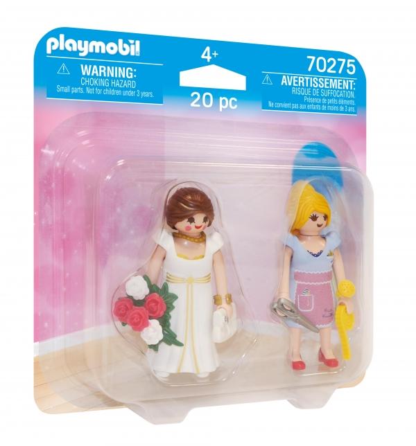 Playmobil: DuoPack - Księżniczka i krawcowa (70275)