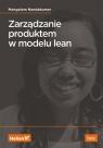 Zarządzanie produktem w modelu lean Mangalam Nandakumar