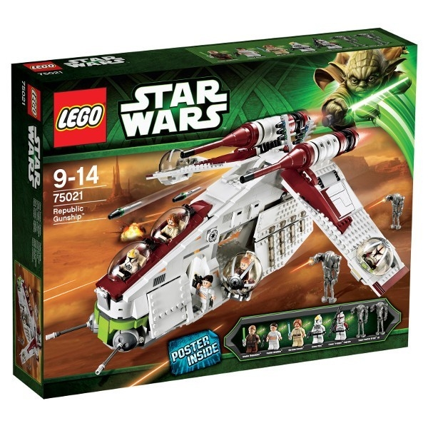LEGO Star Wars Statek Republiki