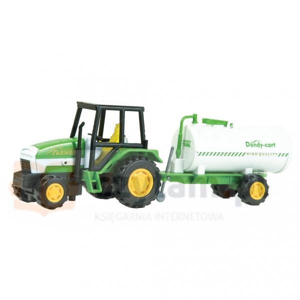 DROMADER Zest. Farma Traktor z beczką (00475)