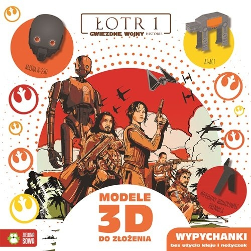 Star Wars Łotr 1 Modele 3D do złożenia