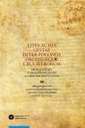 Lites ac res gestae inter Polonos Ordinemque Cruciferorum. Spory i sprawy pomiędzy Polakami a zakonem krzyżackim Akta postępowania przed wysłannikiem papieskim Antonim Zeno z Mediolanu w latach 1422-1423