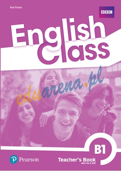 English Class B1 Książka nauczyciela plus DVD-ROM plus nagrania audio