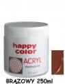 Farba akrylowa 250ml brązowy (7370 0250-7) .