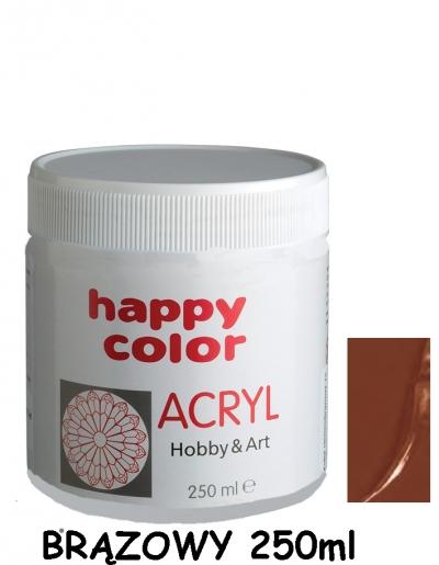 Farba akrylowa 250ml brązowy (7370 0250-7)