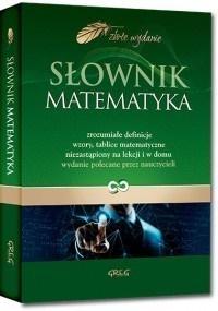Słownik matematyka (Uszkodzona okładka) praca zbiorowa