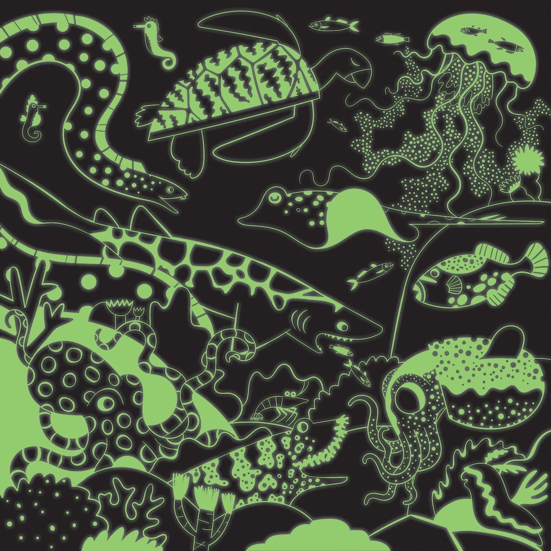 Mudpuppy, Puzzle rodzinne, świecące w ciemności 500: Ocean (MP60754)