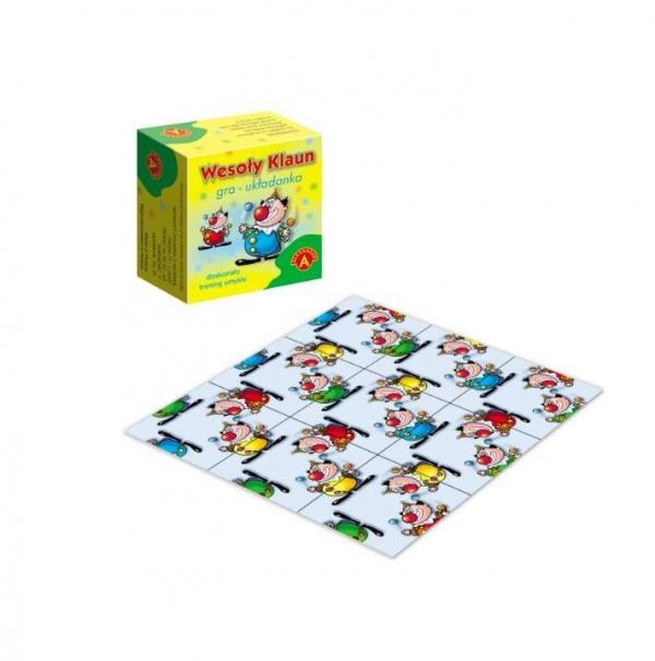 Wesoły klaun - gra układanka (0175)