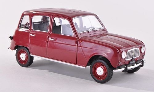 Renault 4 1962 (dark red)