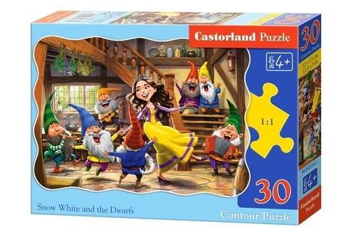 Puzzle 30: Królewna Śnieżka i Krasnoludki