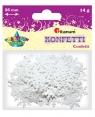 Konfetti płatki śniegu, białe (284814)