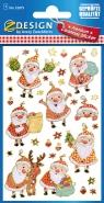 Naklejki foliowe Świąteczne (52875)