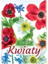 Kalendarz 2021 Ścienny Kwiaty
