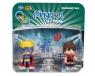 PinyPon Action - 2 pack figurek - Piłkarz i Superbohater (FPP16056/63755)