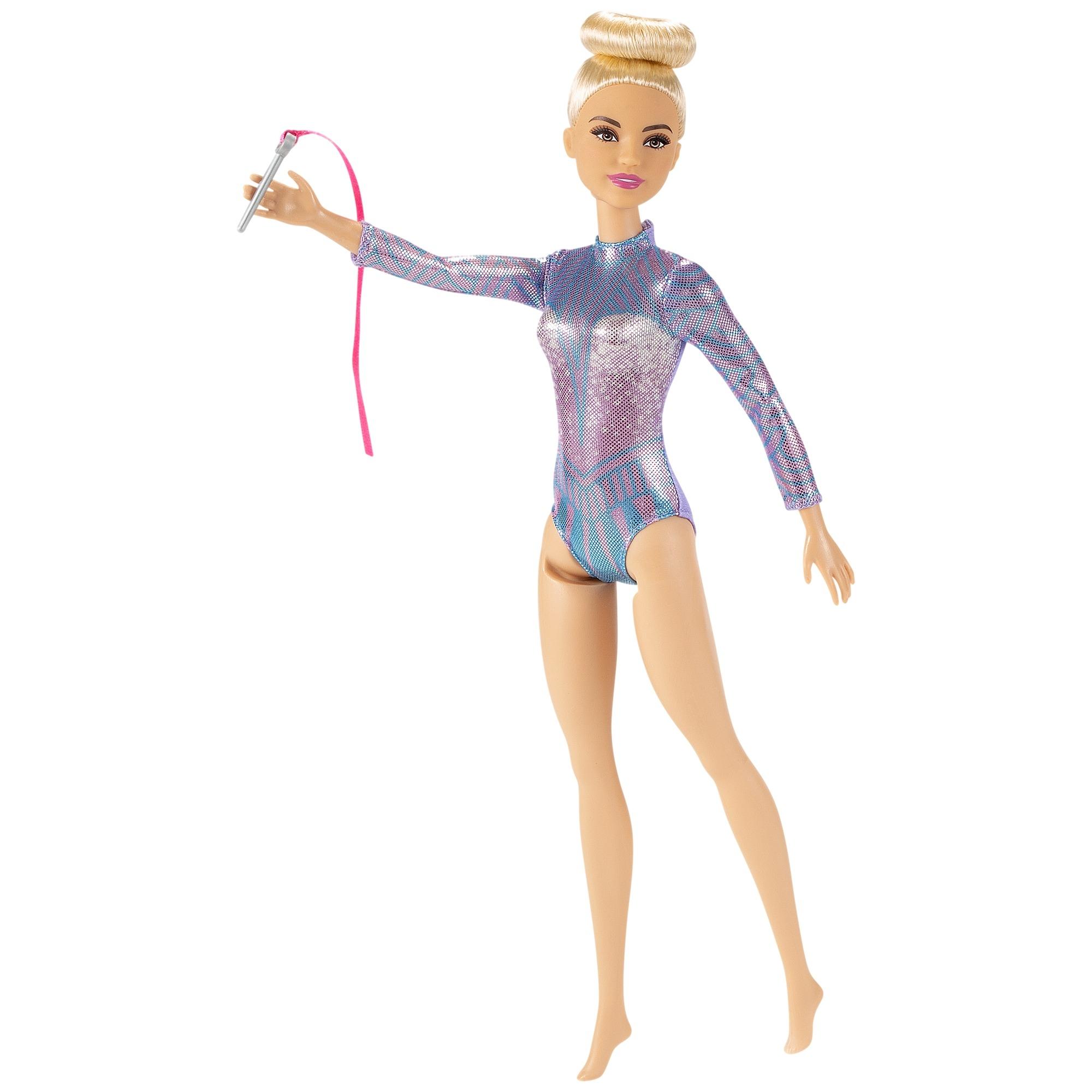 Barbie Kariera: Gimnastyczka artystyczna - lalka blondynka (DVF50/GTN65)