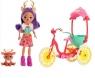 Enchantimals. Lalka + rower dla dwojga (GJX300)Wiek: 3+