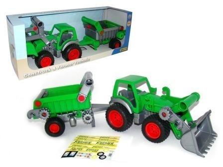 Traktor ładowarka z naczepą (37756)