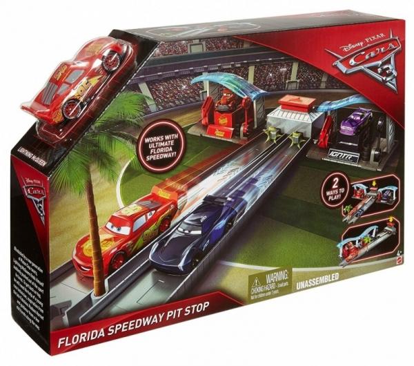 CARS 3 Zestaw Florida Speedway (DVT46/FBH01)