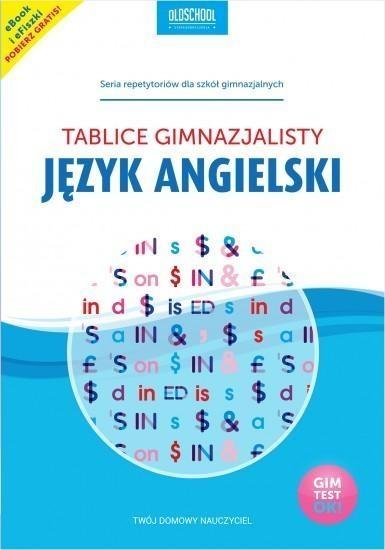 Język angielski Tablice gimnazjalisty