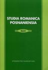 Studia Romanica Posnaniensia XLI/4