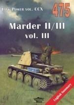 Tank Power vol.CCX 475 Marder II/III vol.III Ledwoch Janusz