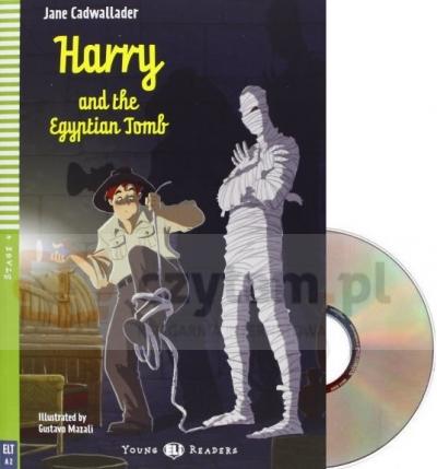 Harry and the Egyptian Tomb książka +CD A2 Jane Cadwallader