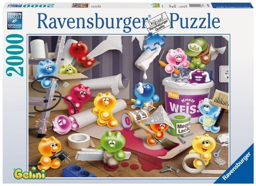 Puzzle Domowe porządki 2000 (166756)
