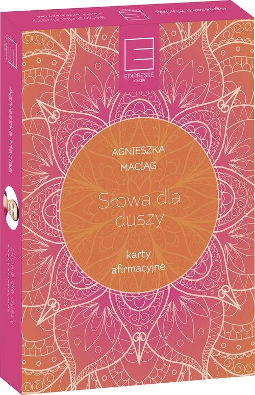 Karty afirmacyjne Słowa dla duszy (400146) Maciąg Agnieszka