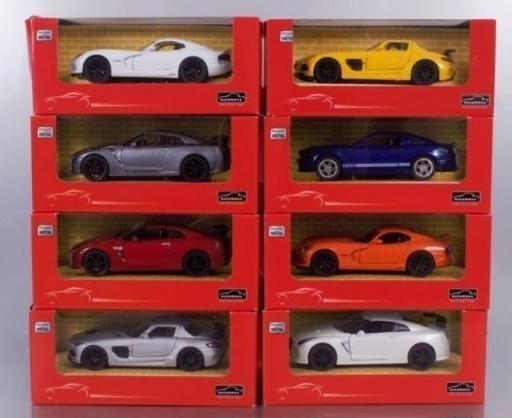 Pojazdy różne skala 1:32, różne rodzaje