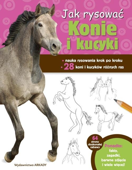 Jak rysować Konie i kucyki Cuddy Robin