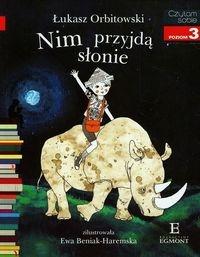 Czytam sobie Nim przyjdą słonie Orbitowski Łukasz