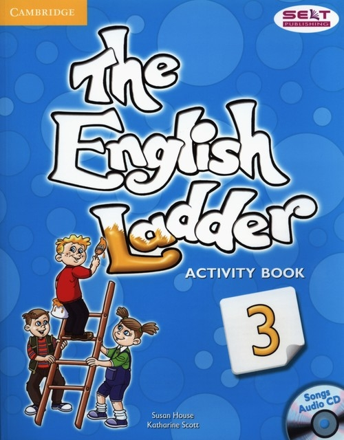 The English Ladder 3 Activity Book with Songs Audio CD House Susan, Scott Katharine