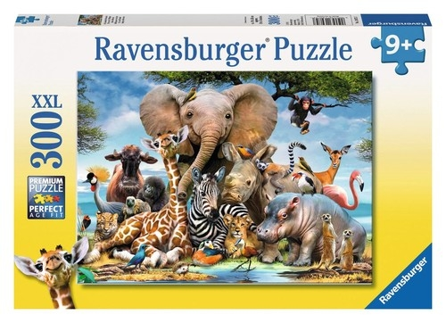 Puzzle XXL 300: Afrykańscy przyjaciele (13075)
