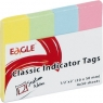 Eagle zakładki indeksujące pastelowe 20x50mm 652-5P (150-1374)