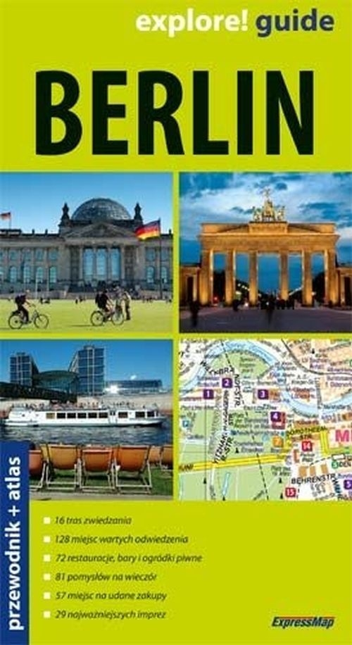 berlin przewodnik atlas expressmap ksi garnia internetowa. Black Bedroom Furniture Sets. Home Design Ideas