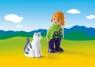 Dziewczynka z kotem (6975)